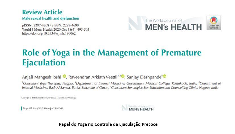 Papel do Yoga no Controle da Ejaculação Precoce